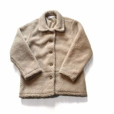 d6b3d1981de7 Cream / off white Teddy Bear fleece jacket! Brilliant with - Depop Asos
