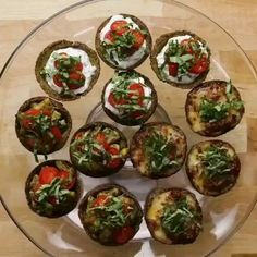 Herb Ricotta Broccoli Parmesan Cups Recipe by Tasty – Easy keto recipes – Foil Pack Recipes Low Carb Recipes, Cooking Recipes, Healthy Recipes, Sushi Recipes, Snacks Recipes, Finger Foods, Food Videos, Appetizer Recipes, Love Food