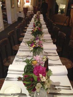 FOM - Long tables.