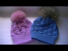 Оригинальная шапка спицами и снуд в один оборот без шва.Шапка-бини.Snud & Hat - YouTube