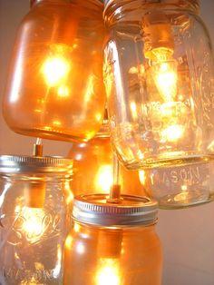 Mason jars + twinkle lights = moxie love!