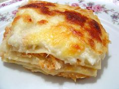 Brazilian Chicken Lasagna ~ I used to get something similar to this at a local Brazilian restaurant, which closed several years ago. Looking forward to trying this recipe out!
