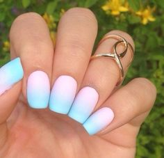 Onbre Nail Art. Sooo CUTE!!!!