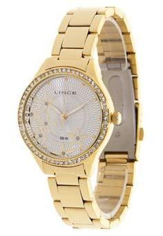Relógio LRG4158LS1KX Dourado - Lince - Compre em: http://batecabeca.com.br/relogio-lrg4158ls1kx-dourado-lince-dafiti.html