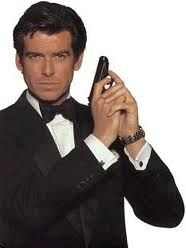 Pierce Brosnan.  Then they went for a younger Roger Moore.