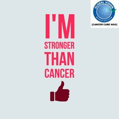 #imstrong #GlobalVision #NGO #help to #cancerpatient