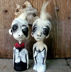 Male and female dolls - Colleen Downs