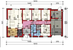DOM.PL™ - Projekt domu HP SMART C CE - DOM HP1-93 - gotowy koszt budowy Dream House Plans, Prefab, Floor Plans, How To Plan, Small Houses, Design, Home Entrances, Country Homes, Trendy Tree