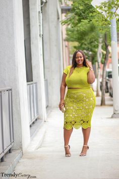 Crochet Chic | Plus Size Fashion | Spring Style
