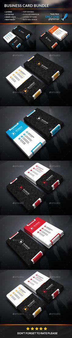 Modern Corporate Business Card Bundle Template #design Download: http://graphicriver.net/item/modern-corporate-business-card-bundle/12428444?ref=ksioks