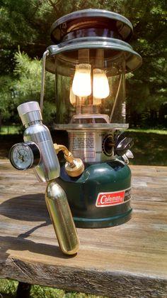 No pumping with mini CO2 regulator