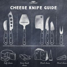 Cheese Knife Guide - Castello