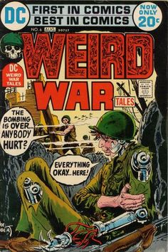 Weird War Tales was launched by DC in 1971 under Editor Joe Kubert to exploit the relaxation of the Comics Code. Vampires, ghouls, werewo...