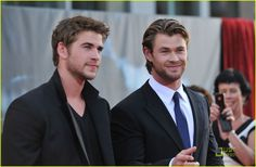 liam hemsworth & chris hemsworth