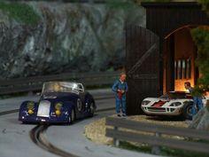 Slot Car Racing, Slot Car Tracks, Slot Cars, Pista, Scale Models, Carrera, Madness, Trains, Modeling