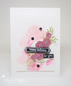 Hey Everyone I have a new flower stamps to play with!!! Thank you Stampin' Up! I initially purchased Happy Birthday Gorgeous from the Stampin' Up! pre-order JUST for these flowers&#8230…
