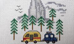 Camp Cross Stitch | Cross Stitch Kits and Patterns | Camping and ...