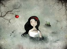 Snow White - Anne-Julie Aubry - I purchased this as a mouse pad a few years ago and still love it.  Beautiful.