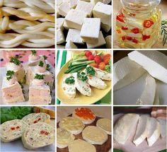 Množstvo slaných aj neslaných syrových receptov a iných lahôdok zo stránky NAJLEPŠIE pozbierané RECEPTY... Camembert Cheese, Food, Cooking, Essen, Meals, Yemek, Eten
