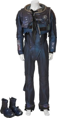Marooned - Science Fiction & Fantasy books on Mars: Auction records: Val Kilmer's spacesuit from film Red Planet