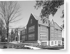 Bethel College Kansas Will Academic Center Canvas Print / Canvas Art by University Icons Bethel College, College Canvas, College Graduation Gifts, Canvas Art, Canvas Prints, Hard Work And Dedication, San Francisco Skyline, Kansas, University