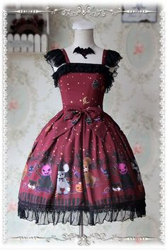 --> #LolitaUpdate: Infanta [-★✙-2016 Halloween Preferential(Lucky) Packs-★✙-] --> Super Value! Your Necessary Choice for 2016 Halloween! --> Learn More: http://www.my-lolita-dress.com/infanta-2016-halloween-preferential-packs-jsk-blouse-match-related-accessory-super-value