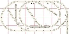 4 by 8 Fastrack Layouts Ho Trains, Model Trains, Escala Ho, Model Railway Track Plans, Electric Train Sets, Standard Gauge, Train Table, Real Model, Model Train Layouts