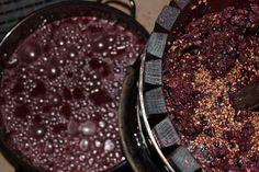 Nie ma to jak własne wino :) A z wytłoków i pestek peeling.