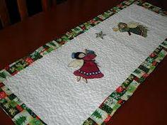 caminho de mesa patchwork natal - Pesquisa Google