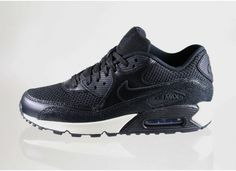 194df7e4b059f2 Nike Air Max 90 Leather PA  Stingray Pack  (Black   Black - Black - Sea  Glass)