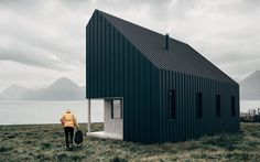 Backcountry Hut Cabin The cabins may have been designed with ease-of-construction in mind, but they're also seriously good looking — it's no surprise that they were inspired by IKEA founder Ingvar Kamprad's exhortation to develop excellent design not for the 1%, but for the masses.