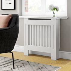 White MDF Radiator Cover White MDF Radiator Covers Available in 4 sizes and with one of our styles having the addition of being adjustable (Radiator Cover you are sure to find one to suit your home! Modern Interior Decor, Large Radiator Covers, Radiator Cover, Zipcode Design, Small Space Living, Modern Interior, Declutter Your Home, Diy Plumbing, Small Hallways