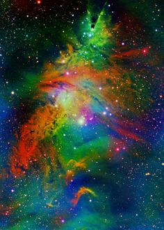Árbol de Navidad de la nebulosa NGC 2264