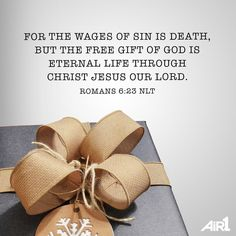 Christ came to pay the penalty for our sin and give us eternal life! #Christmas
