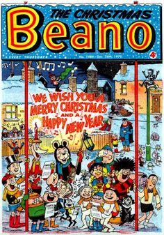 The Christmas Beano CRIVENS! COMICS & STUFF: KID'S CLASSIC CHRISTMAS COMIC COVERS...Image copyright D.C. THOMSON & Co., Ltd