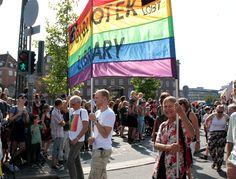 LGBT Danmark, LGBT Biblioteket, Copenhagen Pride Parade 2012. Foto: Nadine Lensborn