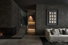 die besten 25 anthrazitfarbene wohnzimmer ideen auf pinterest braune k chenfarbe heimwerken. Black Bedroom Furniture Sets. Home Design Ideas