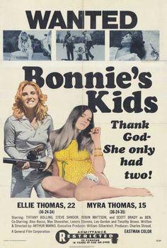 Watch Bonnie's Kids & Movie (Bonnie's Kids) aka Las hijas de Bonnie - Listeia pliromeni me aima - Le sorelline - Töchter des Bösen - Töchter des Satans - Alex Rocco, Leo Gordon, The Bonnie, Bikini Types, Kids Poster, Kid Movies, Executive Producer, Thank God, Hd 1080p