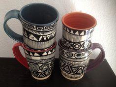 Elija su taza de color taza de cerámica taza blanco y negro
