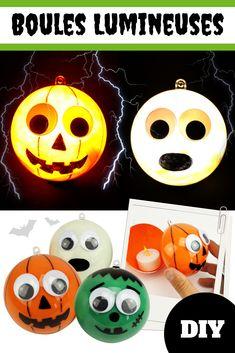 Boules lumineuses Halloween - Halloween. Boule LumineuseActivités  FacilesDecoration ... d94aff0c6436