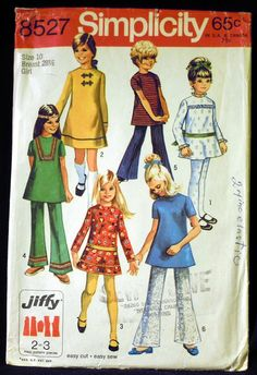 1969 I think mom had this same pattern that she made my clothes from