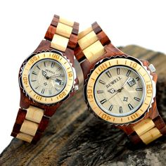 BEWELL Woman Wood Wristwatches for Ladies Luxury Top Brand 2016 Couple Wrist Watch Men Quartz Lover's Watches Box 100B 1-piece - Online Shopping for Watches