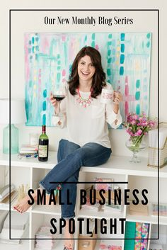 Small Business Spotlight - Rachel Tenny - Get to know all about her business, how she started it, what she sells, and a few extra fun facts!