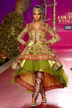 Ritu Beri at India Bridal Fashion Week 2013