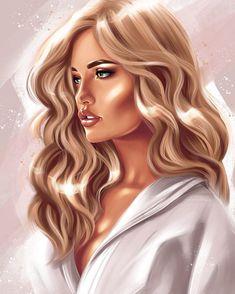 🔹 ЦИФРОВЫЕ ПОРТРЕТЫ 🔹さんはInstagramを利用しています:「Такую вот красавицу-именинницу из @malina_fashion недавно рисовала 😊 ____ #диджиталарт #подаркиспб #подарокмужчине #портретназаказ…」 Digital Art Girl, Digital Portrait, Portrait Art, Portraits, Cute Girl Drawing, Woman Drawing, Foto Pop Art, Pop Art Wallpaper, Dope Cartoon Art