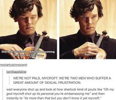 Sherlock ships them together too :D!