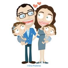 Custom illustrations for special occasions: http://www.onapraderas.com/illustrations/