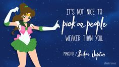 Sailor Moon quotes that will make you fall in love with it again: Sailor Jupiter