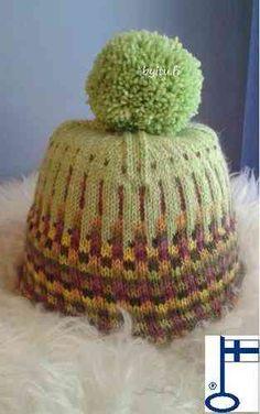 by itu - pieni saunahattukauppa Koivukujalla Itu, Petra, Crochet Hats, Green, Design, Crocheted Hats, Design Comics