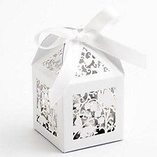 Filigrane Schmetterling Geschenkschachteln